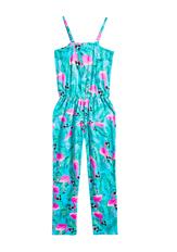 Flamingo Print Jumpsuit
