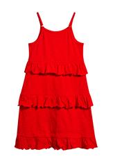 Tiered Ruffle Tank Dress
