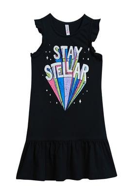 Stay Stellar Ruffle Tank Dress