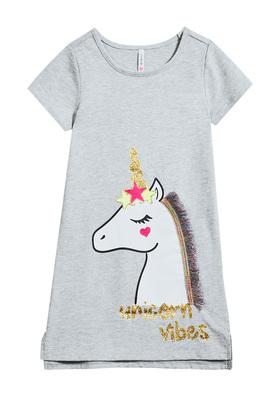 Unicorn Vibes T-Shirt Dress