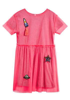Space Tulle Dress