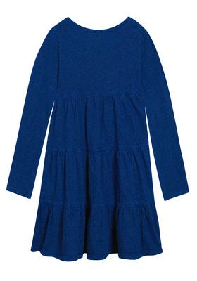 Indigo Tiered Dress