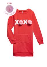XOXO Sweatshirt Dress