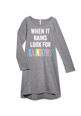 Rainbow T-Shirt Dress