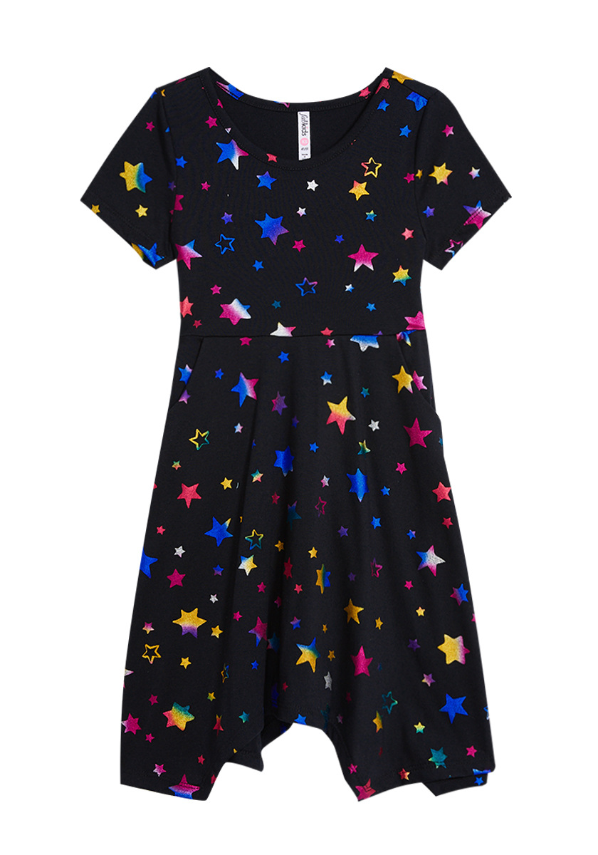 Rainbow Star Dress