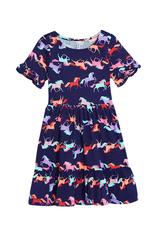 Horse Ruffle Dress