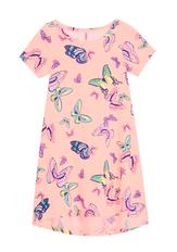 Butterfly T-Shirt Dress