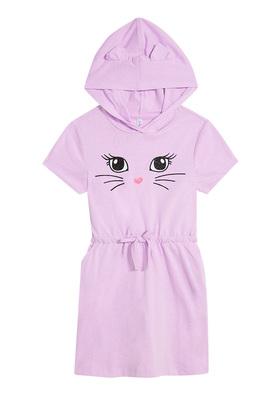 Cat Hoodie Dress