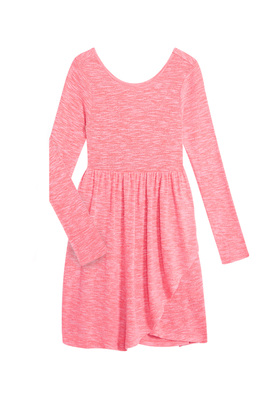 Cozy Wrap Skater Dress