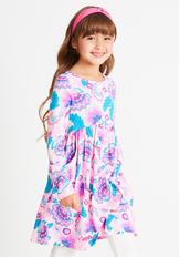 Paisley Babydoll Dress