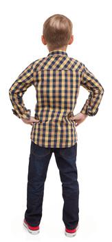 Plaid Denim Outfit