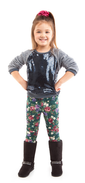 Sparkly Florals Outfit