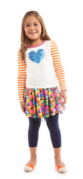 Hearts & Stripes Outfit