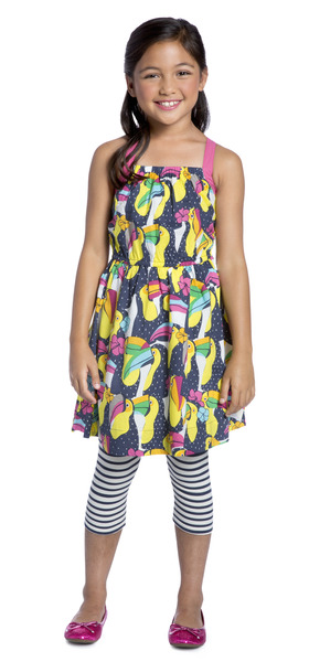 Toucan & Stripes Outfit