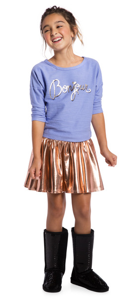 Metallic Bonjour Outfit
