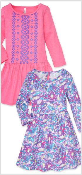 Tribal & Floral Dress Pack