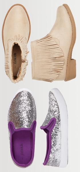 Fringe & Sparkle Shoe Pack