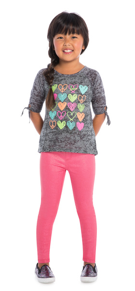 Peace & Love Jegging Outfit