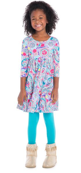 Blue Boho Love Outfit