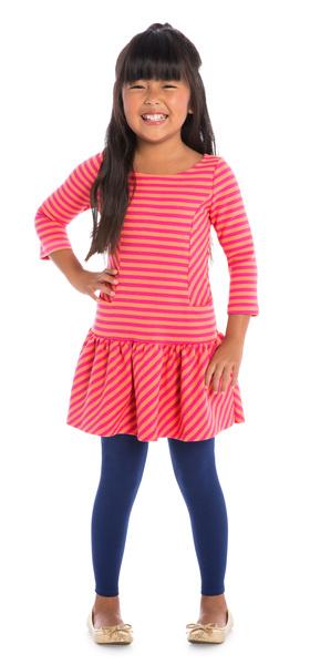 Navy Preppy Stripes Outfit
