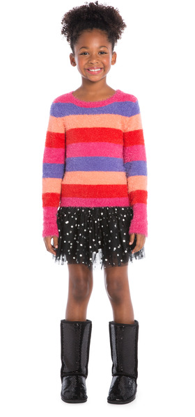 Tutu Cozy Stripes Outfit