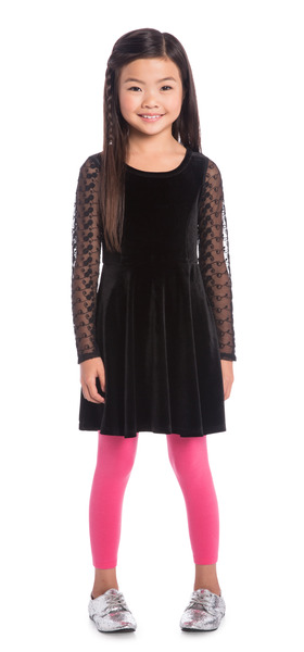 Pink Holiday Party Outfit