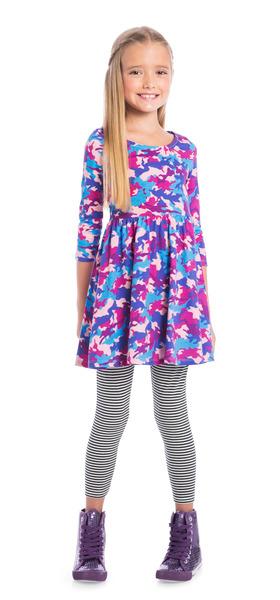 Stripe Purple Camo Outfit