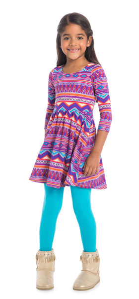Blue Sunset Tribal Outfit