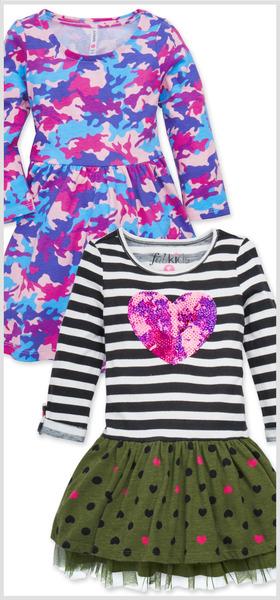 Stripes & Camo Dress Pack