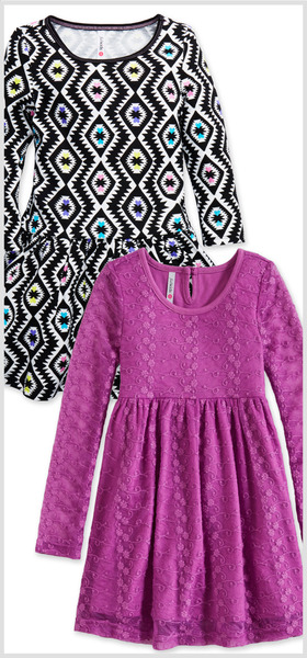 Tribal & Lace Dress Pack