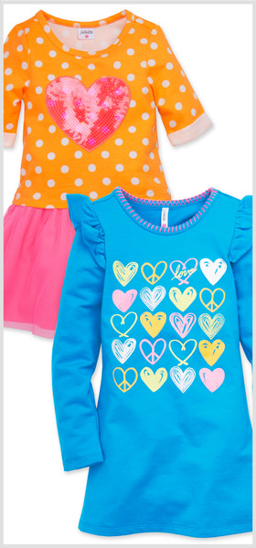Colorful Heart Dress Pack