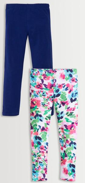 Floral & Navy Legging Pack