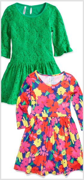 Lace & Floral Dress Pack