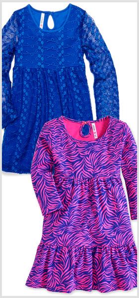 Lace & Zebra Dress Pack