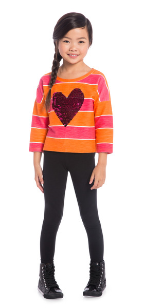 Legging Heart School Outfit