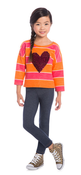 Jegging Heart School Outfit