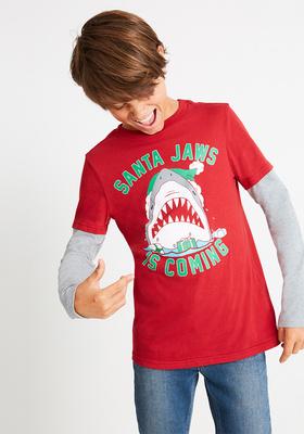 Santa Jaws Outfit