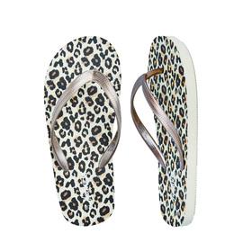 Leopard Flip Flop