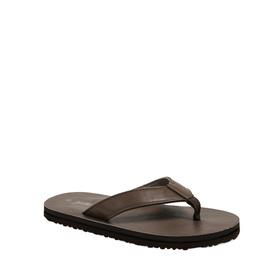Faux Leather Flip Flop