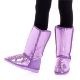 Purple Sequin Fuzzies
