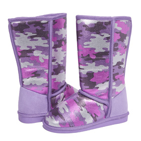Purple Camo Fuzzies