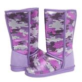 Purple Camo Fuzzies