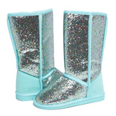Teal Glitter Fuzzies