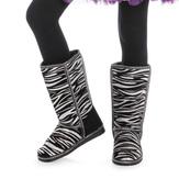 Glitter Zebra Fuzzies