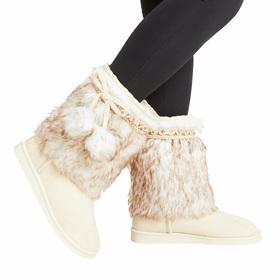 Photo of Pom Pom Fur Fuzzy Boot