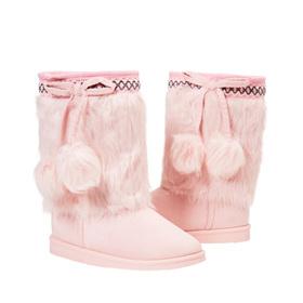 Photo of Pom Pom Fuzzy Boot