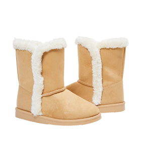 Photo of Tulip Hem Fuzzy Boot