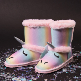Photo of Rainbow Unicorn Fuzzy