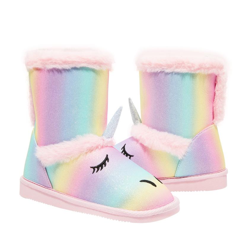 Rainbow Unicorn Fuzzy - FabKids