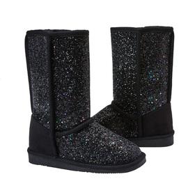 Photo of Glitter Fuzzy Boot